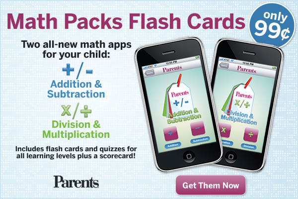 Parents Flash Cards Math Mobile Apps