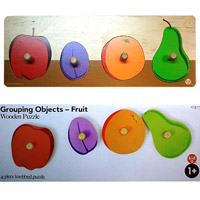 Kid O Products Wooden Fruit Puzzles