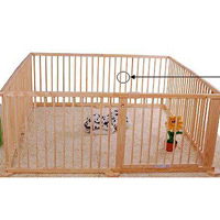 Aosom Wooden Playpens