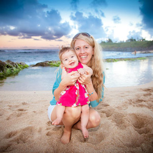 Melanie Rae Seeley and daughter Arielle