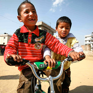 Children?s Charity Donates Bicycles