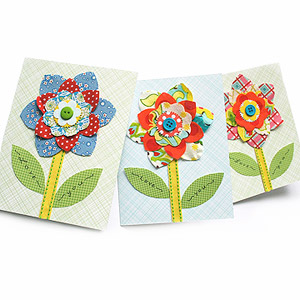 Flower card