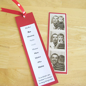Mom bookmark