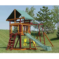 Adventure Playsets Wooden Swing Sets