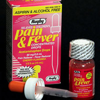 Ruby Children's Pain & Fever Concentrated Drops