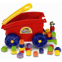 Fisher-Price Little People Builders' Load 'n Go Wagons