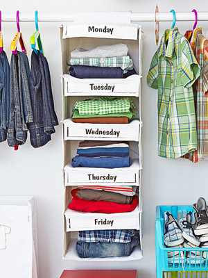 How to organize your kid s closet craigslistdad How to organize clothes without a closet