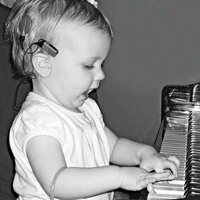 At 16 months, she played the piano and ?sang.?