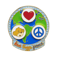 Build-A-Bear Workshop Lapel Pins