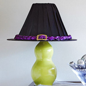Witch hat lampshade