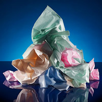 pile of tissues
