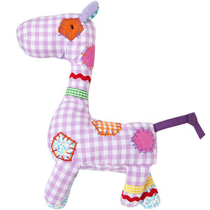 Soft Rattle Chime Giraffe
