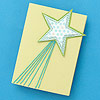 How to Make a Shooting Star Holiday Card