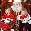 Real Kid Photos: Scared of Santa
