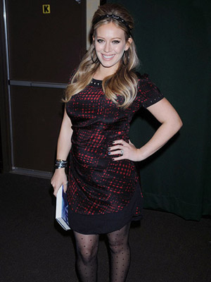 Hilary Duff pregnant
