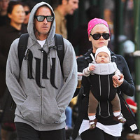 Pink and Carey Hart with their daughter Willow
