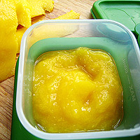 freeze mango puree