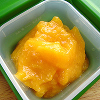 Freeze Leftover Apricot Puree