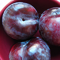 plums