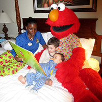 meeting Elmo