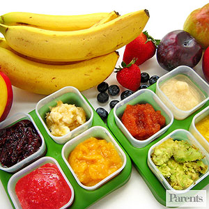 Simple Pureed Baby Food Recipes