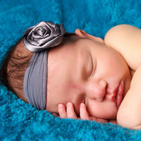 handmade baby headband