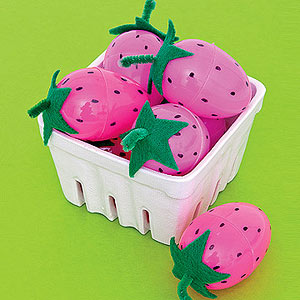 Photo By Ed Judice For Parent Plastic Egg Strawberries
