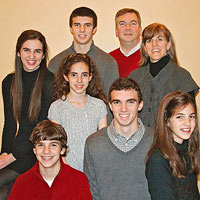 Becky Hayes family