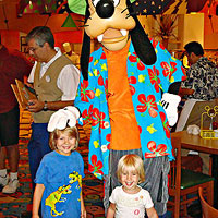 Kids and Goofy