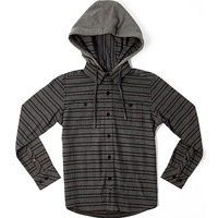 O'Neill Pluto hooded flannel shirts