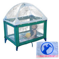 Tots in Mind crib tent