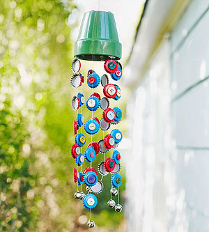 Diy wind chime the boys store blog for Wind chime craft projects