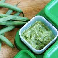 Freeze Leftover Green Beans