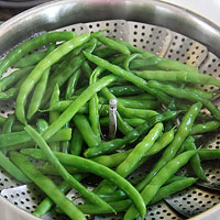 Steam the Green Beans