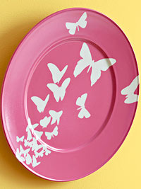 Butterfly Wall Plates