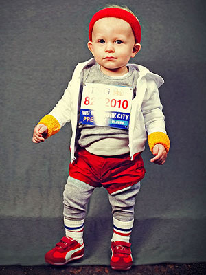 Marathon Runner Costume