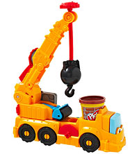 Chuck and Friends Diggin? Rigs Buster the Power Crane