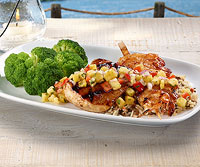 Island Grilled Mahi-Mahi and Shrimp
