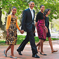 Obama family