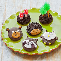 Whimsical Woodland Cookies