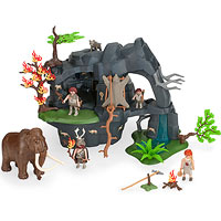 Stone Age Cave With Mammoth (5100)