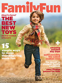 FamilyFun November 2012 cover