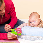 tummy time games