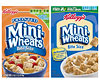 Kellogg's Frosted Mini-Wheats Bite Size Original and Mini-Wheats Unfrosted Bite Size Cereals photo