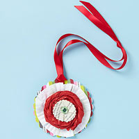 Paper Medallion Ornament