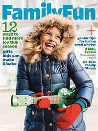 FamilyFun December January 2013 cover