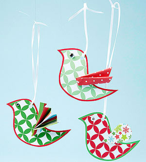Bird Ornaments