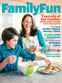 FamilyFun March 2013 cover