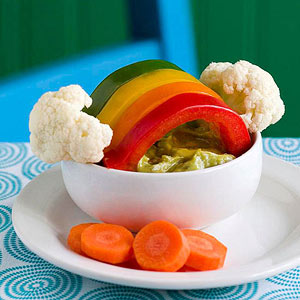 Over the Veggie Rainbow