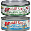 Bumble Bee Foods Chunk White Albacore and Chunk Light Tuna photo